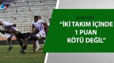Adanaspor: 0 – Ankara Keçiörengücü: 0