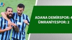 3 puanın sahibi Adana Demirspor