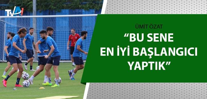 Adana Demirspor'un teknik direktörü Özat açıkladı
