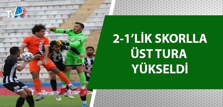 Adanaspor, 68 Aksarayspor'u evinde mağlup etti