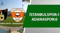 Adanaspor deplasmanda mağlup oldu