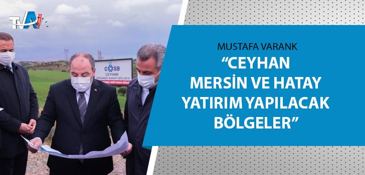Bakan Varank, Adana'da bir dizi ziyaret gerçekleştirdi