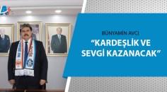 MHP İl Başkanı Avcı'dan Adanaspor'a ve Adana Demirspor'a başarı dileği