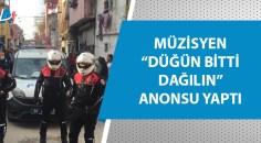 Adana'da polis 'düğün' bastı!