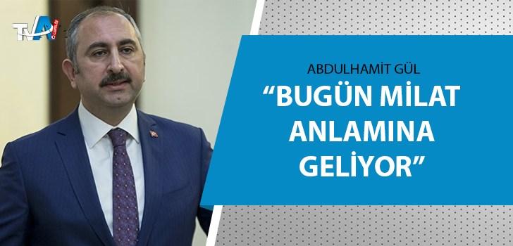 Bakan Gül'den İnsan Hakları Eylem Planı açıklaması