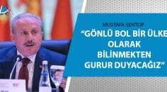 TBMM Başkanı Mustafa Şentop açıkladı