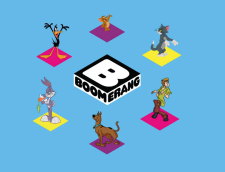 Boomerang re-launched globally