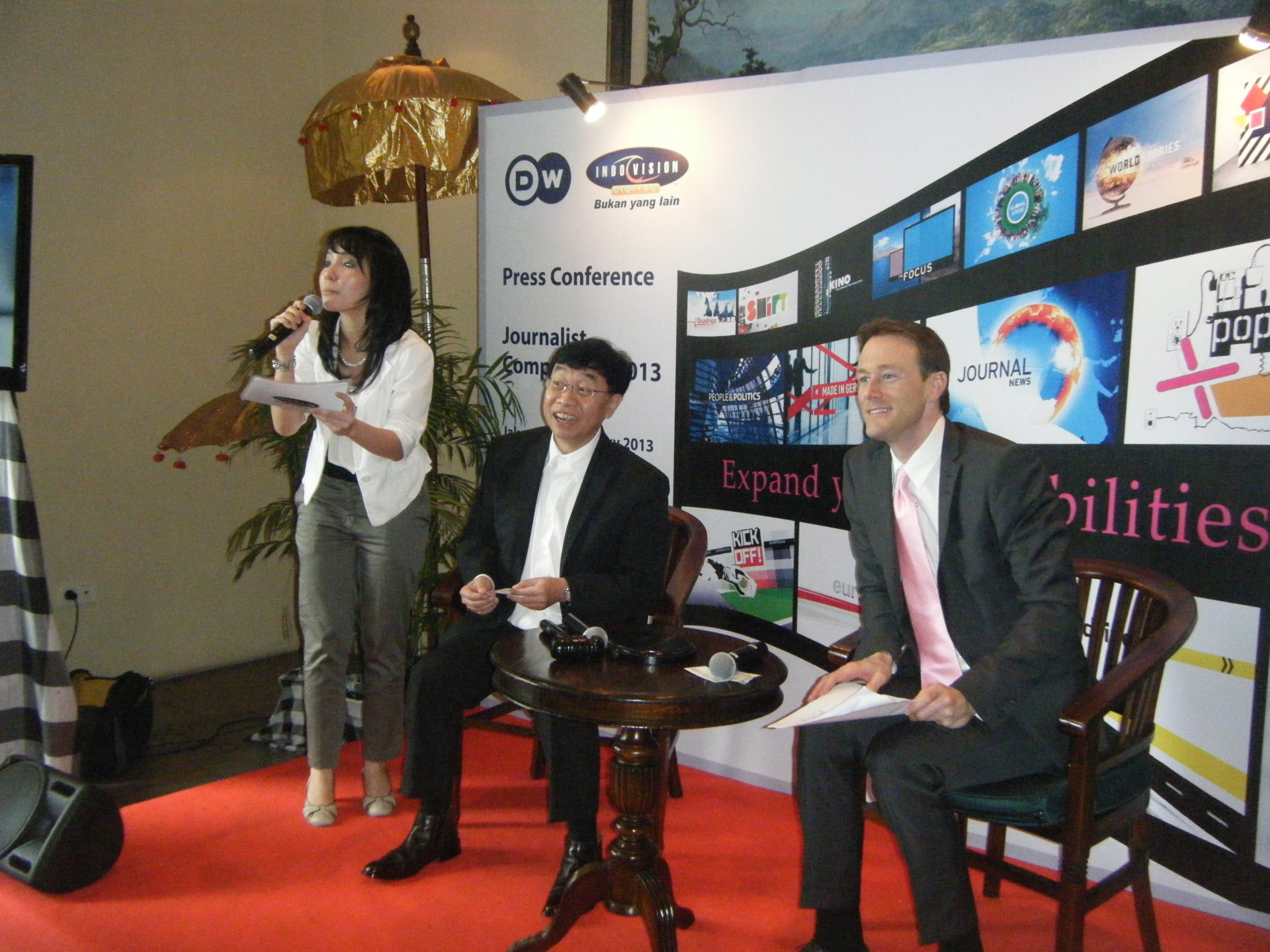 Deutsche Welle and Indovision to create competition for Indonesian journalists