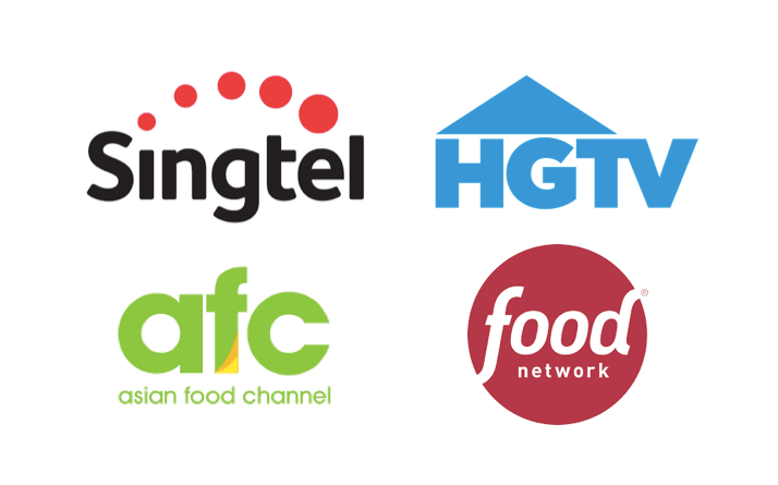 Singtel TV adds Discovery's HGTV, AFC and Food Network to suite of lifestyle channels