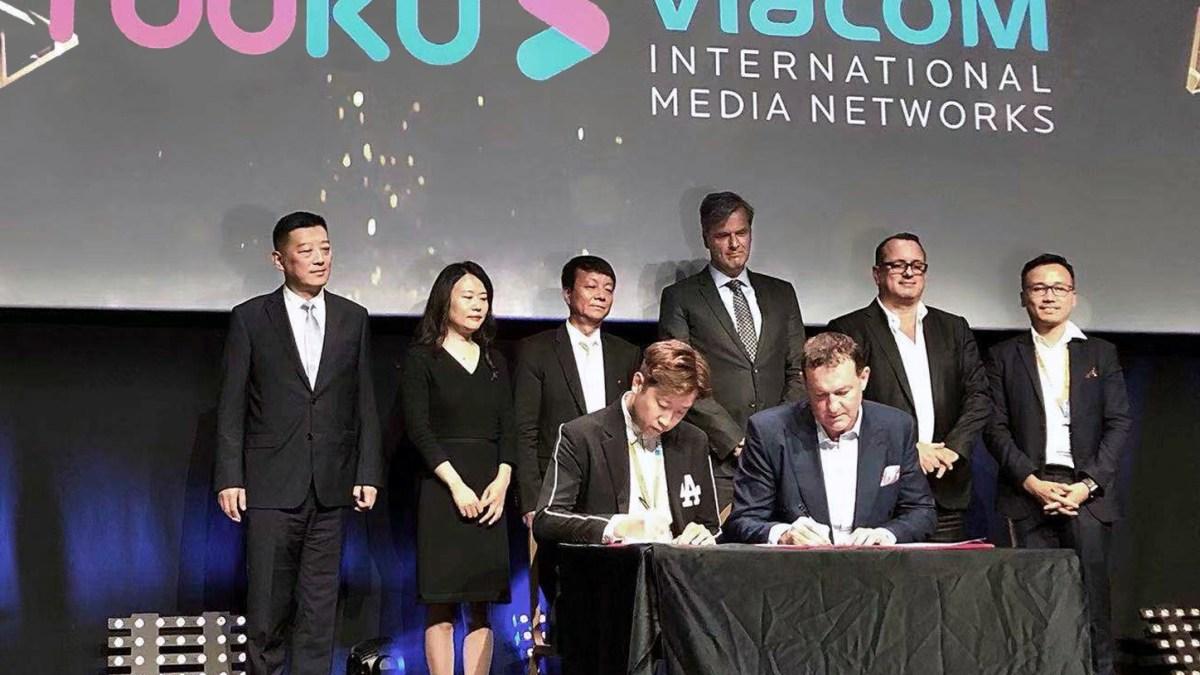 Viacom International Media Networks partners Alibaba Group