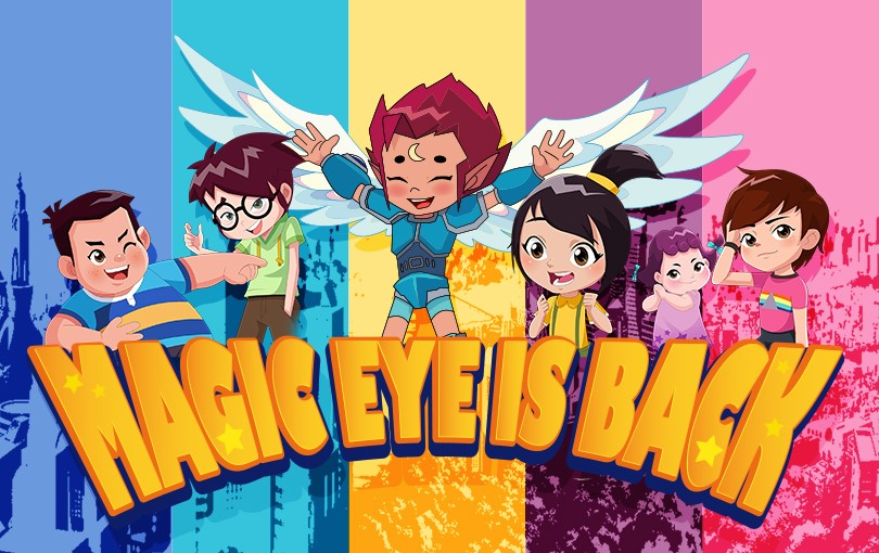 'Magic Eye Is Back' lands on Channel 8's Mediacorp on 6 June 2020