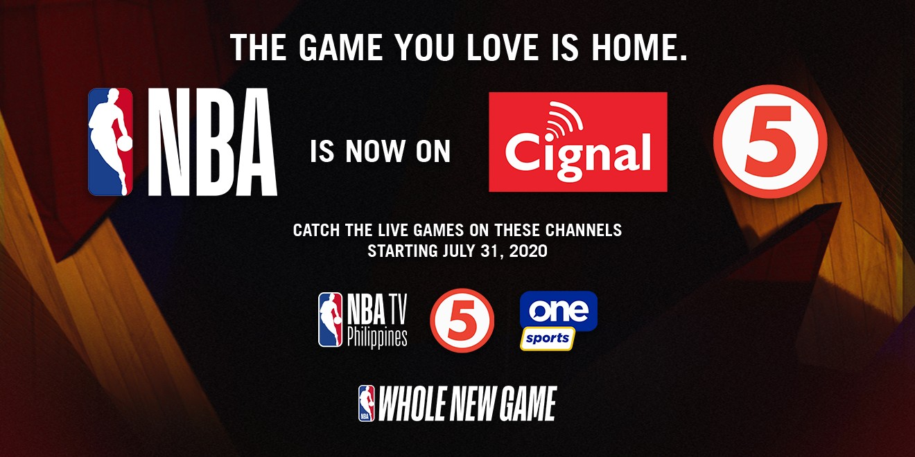 Cignal TV acquires Philippine broadcast rights for the NBA