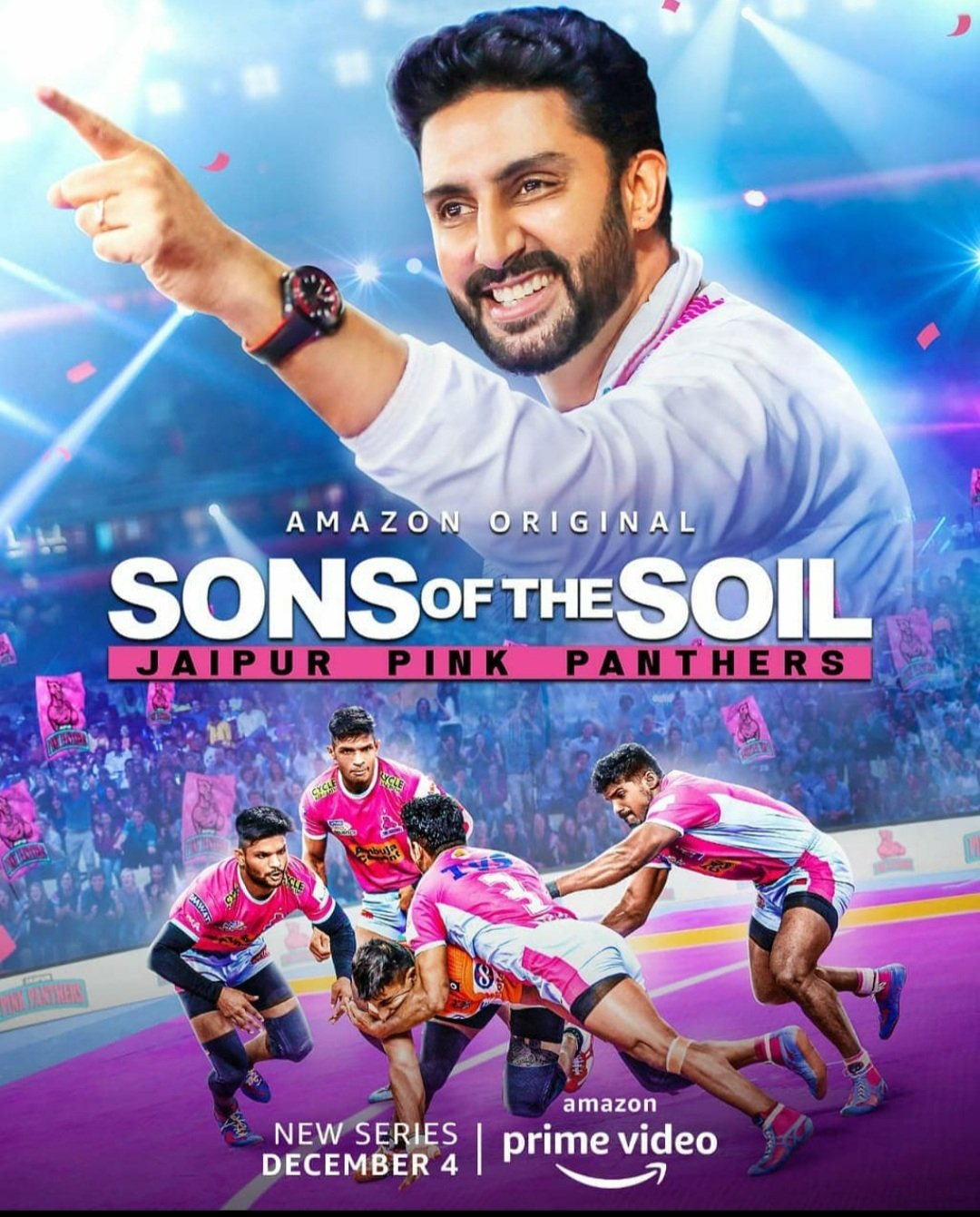 Prime Video, BBC Studios India launch the Amazon Original Series 'Sons of the Soil: Jaipur Pink Panthers'