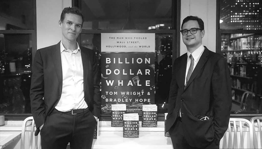 'Billion Dollar Whale' authors Bradley Hope, Tom Wright team up to form multiplatform content company Project Brazen