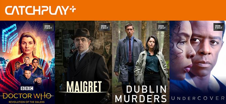 CATCHPLAY+ and BBC Studios bring the best of UK drama to Indonesia and Taiwan through BBC First