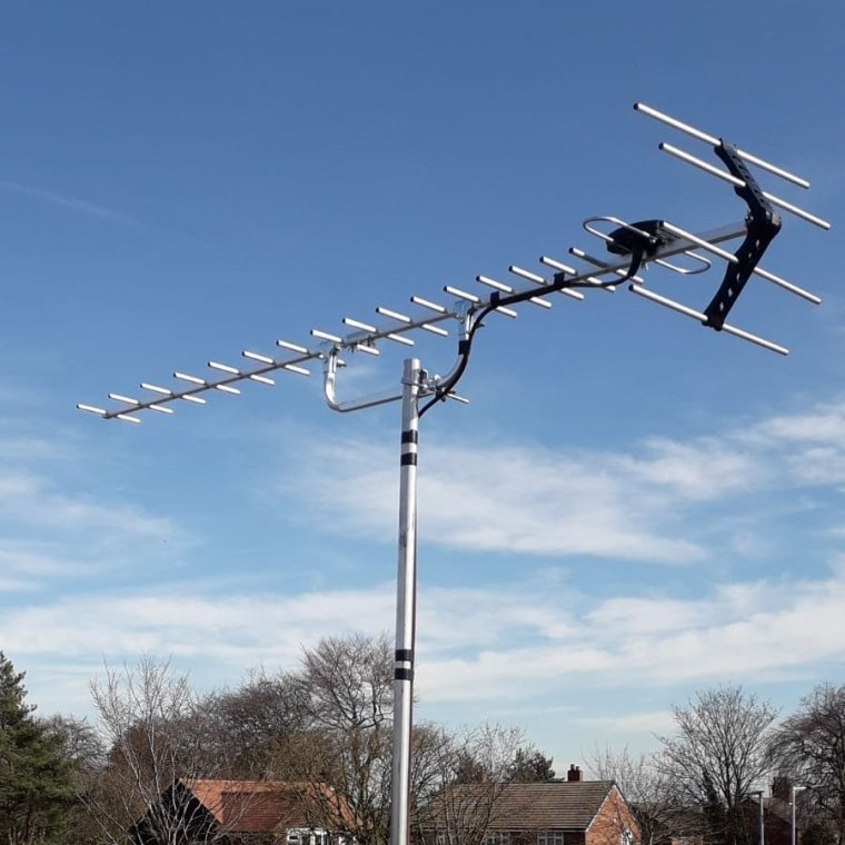 High gain tv aerials