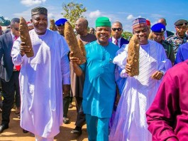 Gov Emeka Ihedioha attends Iri Ji Mbaise Cultural Festival with other governors