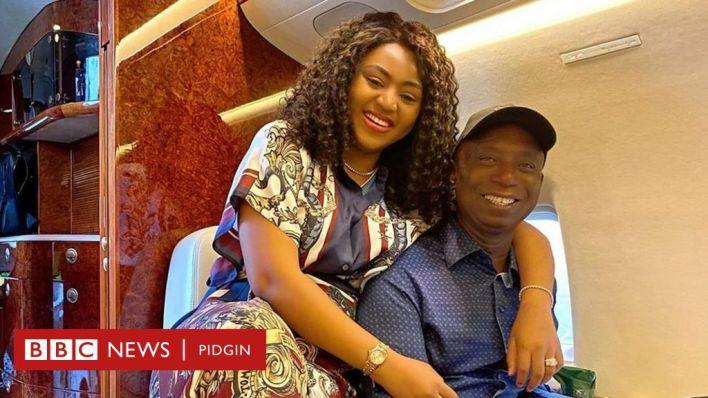 Watch Regina Daniels twerks for her 64-year-old husband, Ned Nwoko, in the club
