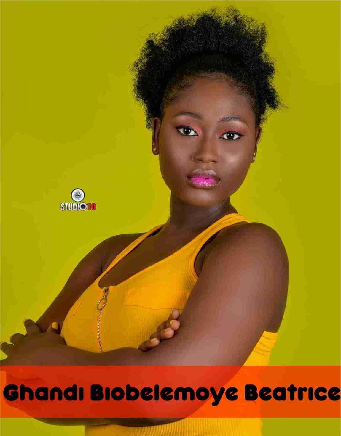 Vote Ghandi Biobelemoye Beatrice for the Miss Bayelsa 2020/21 Beauty Queen