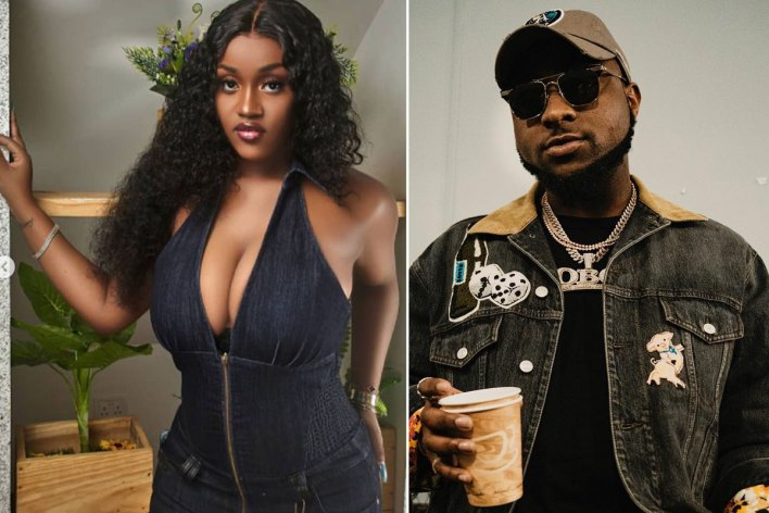 Watch moment Chioma teases Davido with a 'Balloon Dance' in a NEW video