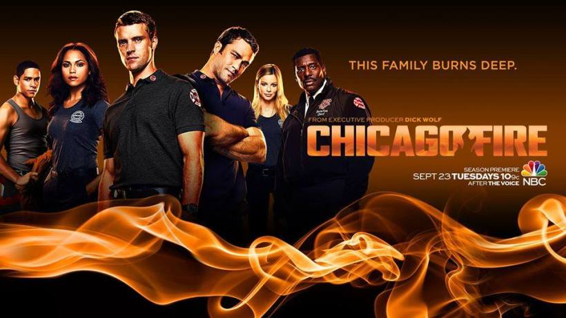CHICAGO FIRE POSTER S3