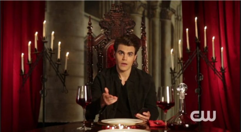 The Vampire Diaries Dinner with Paul Wesley