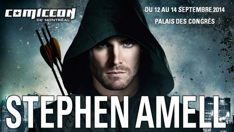 Montreal Comic Con 2014 -  Stephen Amell
