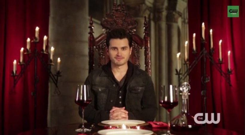 The Vampire Diaries - My Dinner Date with...Michael Malarkey