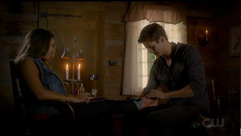 The Originals 2x04 Davina-Kaleb