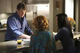 NATHAN FILLION, SUSAN SULLIVAN, MOLLY QUINN