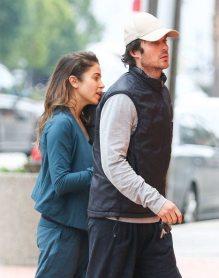 Ian Somerhalder and Nikki Reed YOGA 1