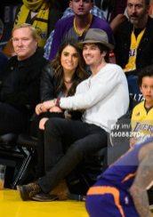 Ian Somerhaler Nikki Reed LA Lakers 13