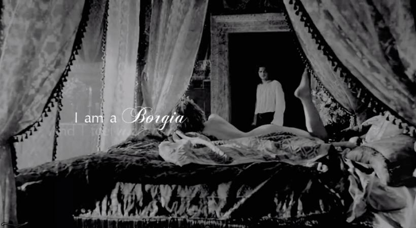 Cesare and Lucrezia The Borgias 2