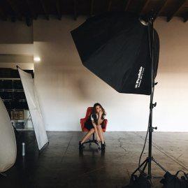 Danielle Campbell LVLTEN Magazine BTS 7
