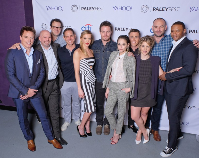 Arrow Cast at Arrow PaleyFest 2015