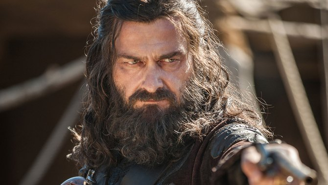 Ray Stevenson Blackbeard