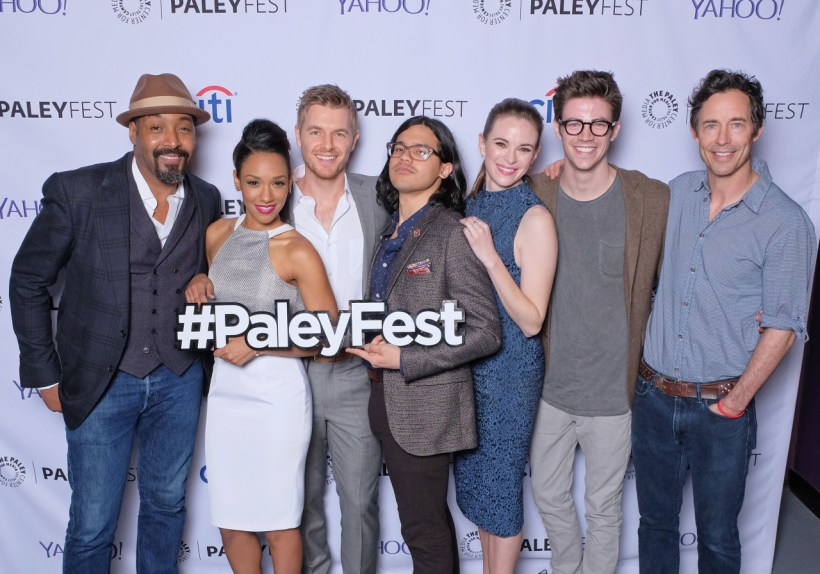 The Flash Cast - The Flash PaleyFest 2015