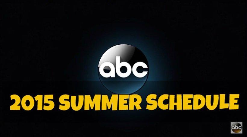 ABC Summer Schedule