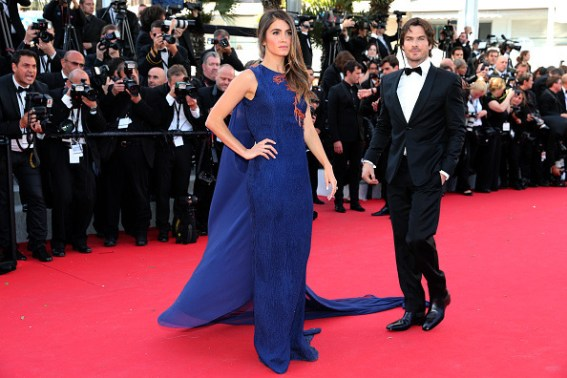 Cannes Film Featival Ian Somerhalder and Nikki Reed 17