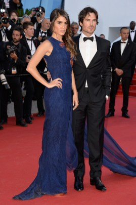 Cannes Film Featival Ian Somerhalder and Nikki Reed 2