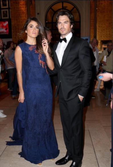 Cannes Film Featival Ian Somerhalder and Nikki Reed 8