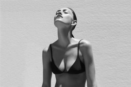 Phoebe Tonkin Matte Swim 4