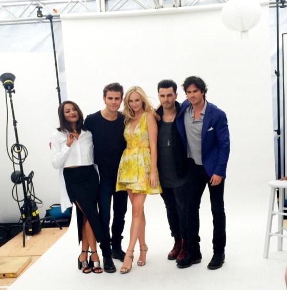 The Vampire Diaries TV Guide Magazine Yacht 1