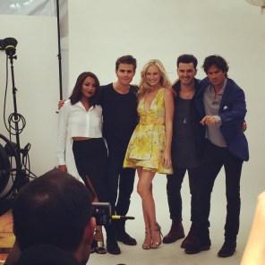 The Vampire Diaries TV Guide Magazine Yacht 4