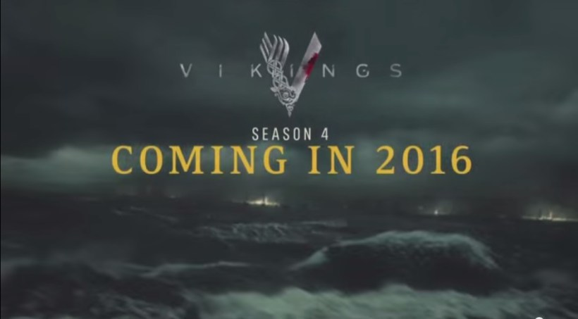 Vikings Season 4: Official Trailer from Comic Con 2015