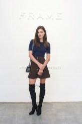 Frame Denim Show at NYFW - Phoebe Tonkin 2