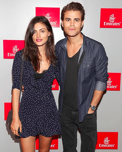 US Open - Paul Wesley and Phoebe Tonkin 6