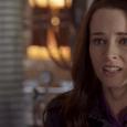 "Continuum -- ""Final Hour"" -- Pictured -- William B. Davis as Alec Sadler and Rachel Nichols as Kiera Cameron"