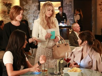 Pretty Little Liars 6x11 -SHAY MITCHELL, LUCY HALE, ASHLEY BENSON, TROIAN BELLISARIO