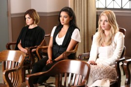 Pretty Little Liars 6x11 -LUCY HALE, SHAY MITCHELL, ASHLEY BENSON